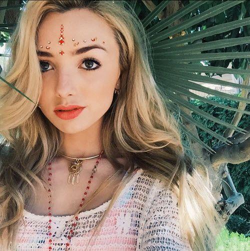Photos: Peyton List Enjoyed Coachella April 13, 2015 - Dis411