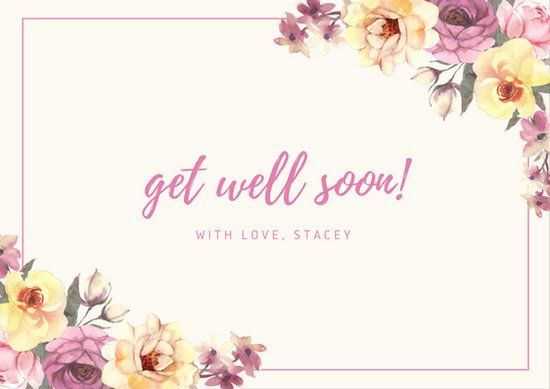 Get Well Card Template Unique Get Well Soon Card Templates Canva Get Well Cards Free Get Well Cards Card Template