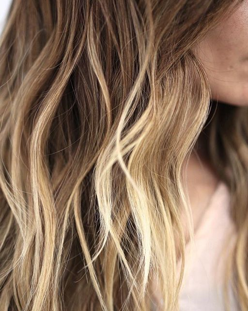 Sun kissed beachy waves.