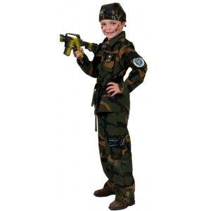 Déguisement soldat militaire John enfant
