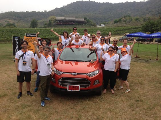 The EcoSport Drive ten in Hua Hin, Thailand test-driving the new Ford EcoSport. Follow the link to read my review http://jennievickers.wordpress.com/2014/03/25/ford-ecosport-review/ #EcoSport #EcoSportDrive #Ford #JennieVickers #Zeopard