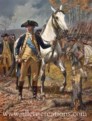 "Gen. George Washington, New York Campaign 1776"""