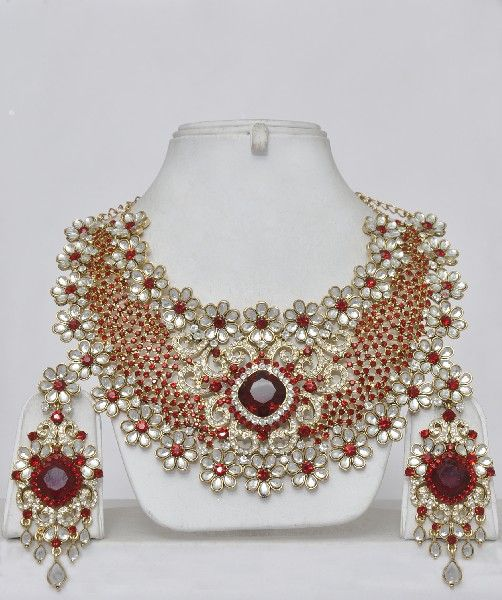 Indian Bridal Jewelry Kundan Indian jewelry Pinterest Indian