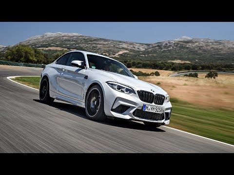 Bmw F87 M2 Coupe Competition Package Driving Scenes Race Track