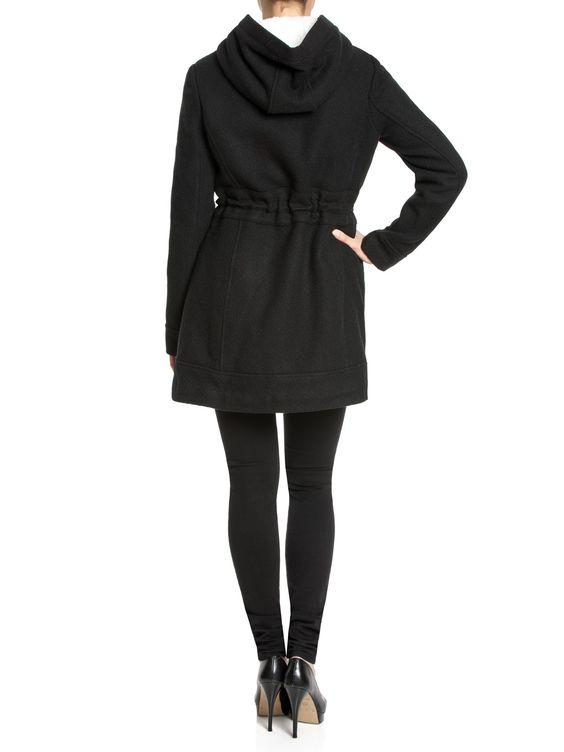 Osito de Peluche Coat - black