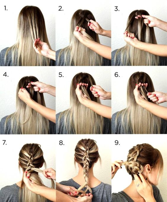 Fantastic Google Easy Hairstyles And Hairstyles On Pinterest Hairstyle Inspiration Daily Dogsangcom