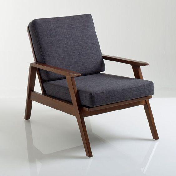 Fauteuil vintage watford vintage watford et mousse - La redoute fauteuils ...