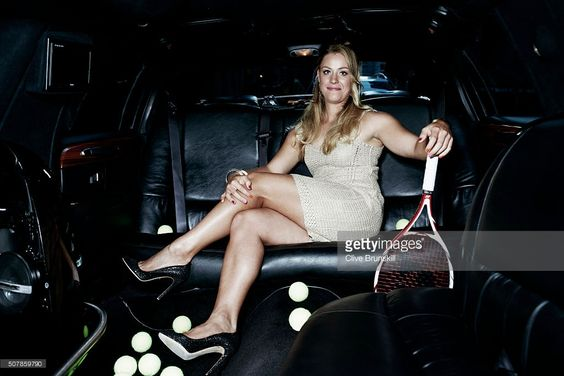 Tennis player Angelique Kerber is photographed on August 10, 2012 in New York City.