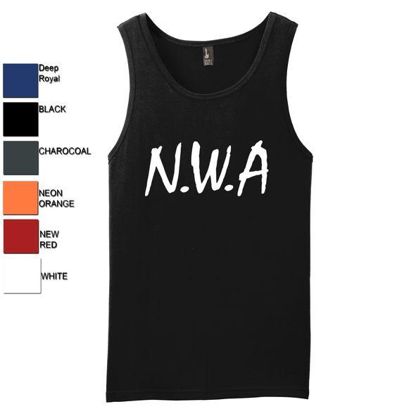 N.W.A. Mens Tank Top