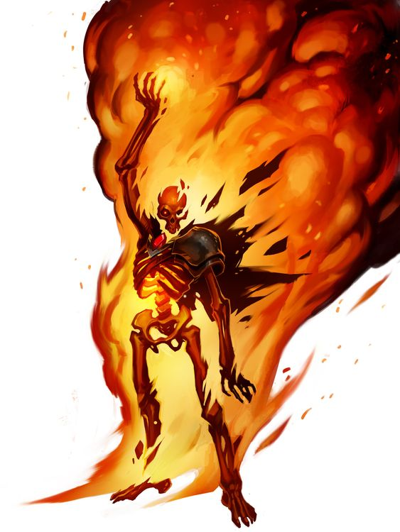 ArtStation - Burning Lich Titan , Kory Hubbell