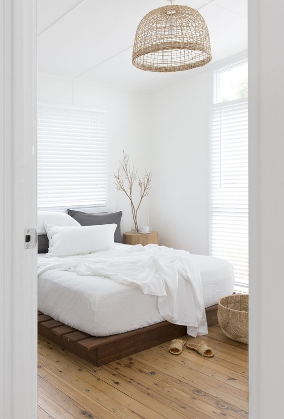 All white serenity . . . white bamboo quilt cover sets from A$220