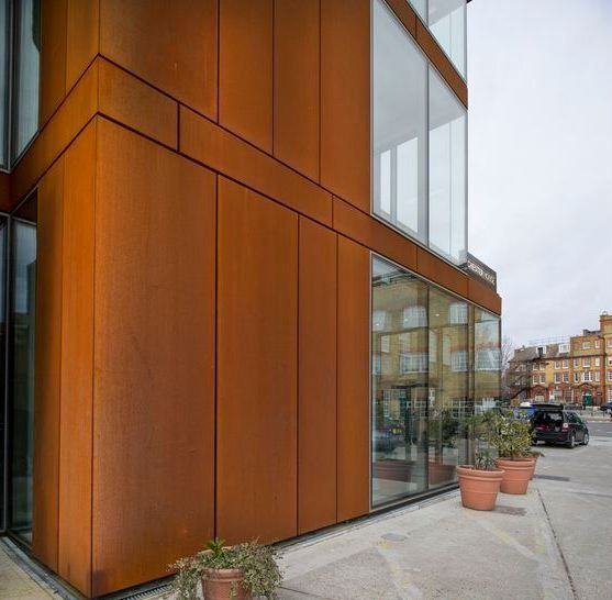 Corten Steel Ideas Steel Architecture Building Cladding Facade