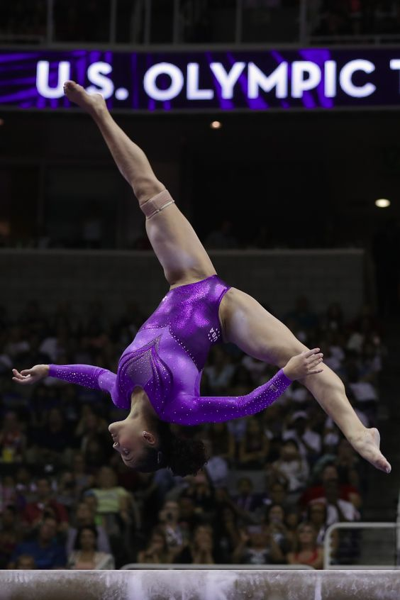 If you love watching the gymnastics events in the Olympics, you're going to love these photos from Team USA star Laurie Hernandez. Get to know the Latina representative on the team.