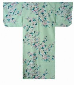 "Ladies' KIMONO ""SAKURA""-- cherry blossom -- Length 56 in"