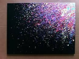 Image Result For Easy Acrylic Painting Ideas For Beginners On Canvas Splatter Paint Canvas Canvas Painting Diy Easy Canvas Painting