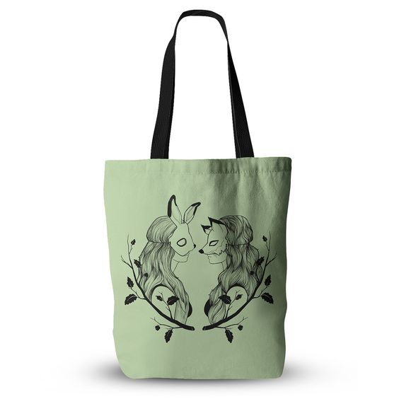 "Jaidyn Erickson ""Foxybuns"" Everything Tote Bag"