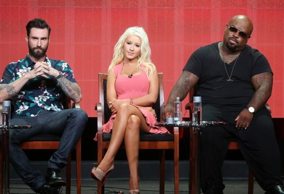 Adam Levine, Christina Aguilera And Cee Lo Green | GRAMMY.com