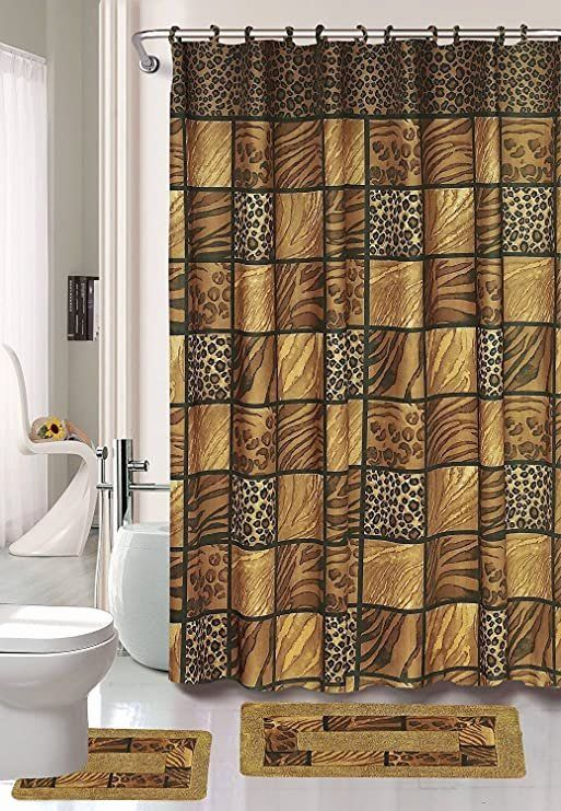 Amazon Com Fabulous Black Brown Jungle Animal Leopard Print
