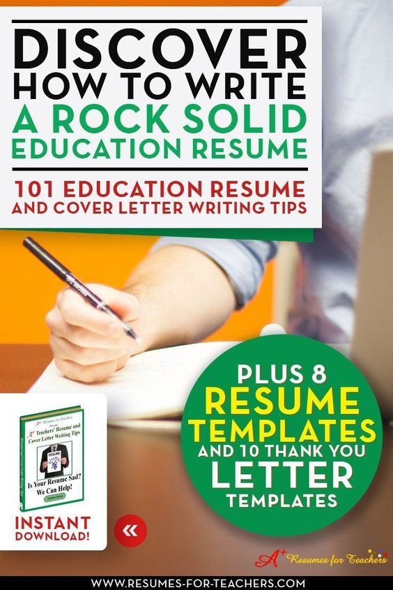 Top-notch tips to write an early childhood teacher resume Early - tips for writing resumes
