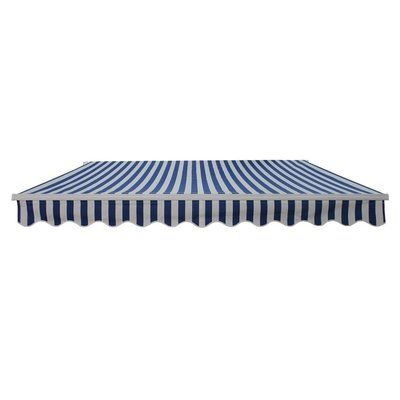 Aleko 16 4 Ft W X 10 Ft D Retractable Motorized And Hand Cranked Patio Awning Color Retractable Awning Patio Awning Awning