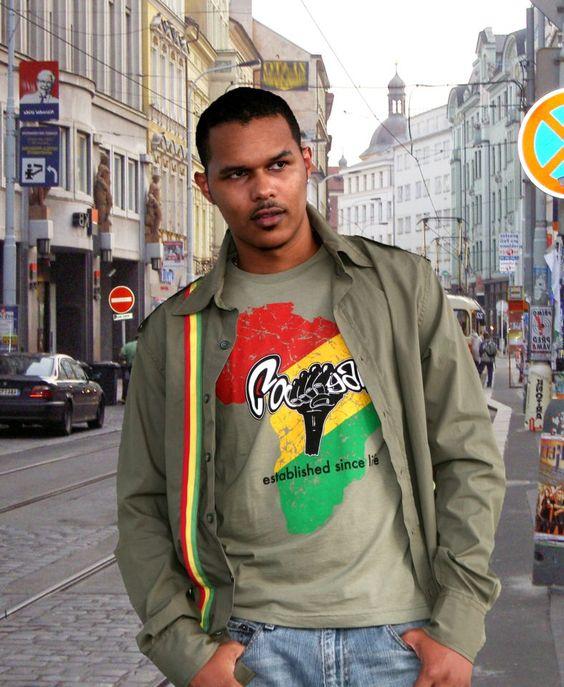 Cooyah in Europe #Afrika #Fashion #rasta