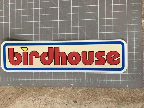 1996 Rare Vintage Birdhouse Skateboard Sticker Toy Logo 9 Inches Ebay In 2020 Toys Logo Skateboard Stickers Birdhouse Skateboards