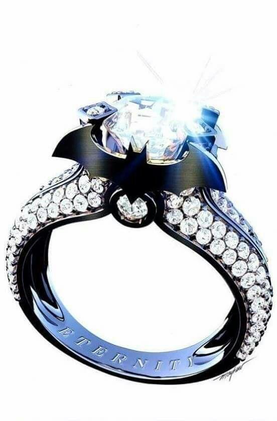Batman 50 Batman Wedding Batman Ring Batman Jewelry