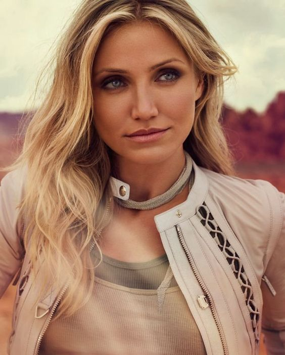 Cameron Diaz -- my personal favorite and the person I am told I look like all the friggin' time. I'll take it! :)