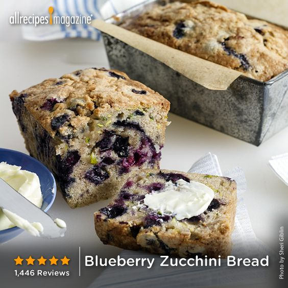 Zucchini, Blueberry zucchini bread and Blueberries on Pinterest