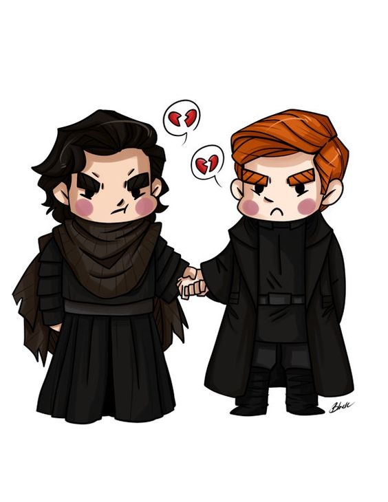 Star Wars - Kylo Ren and General Hux - Fanart Print