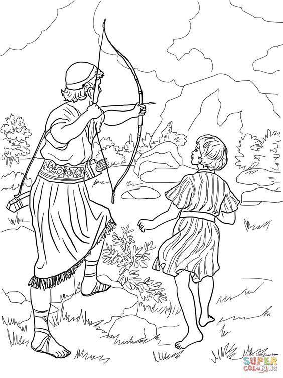 14 jonathan warns david coloring 1200 1600