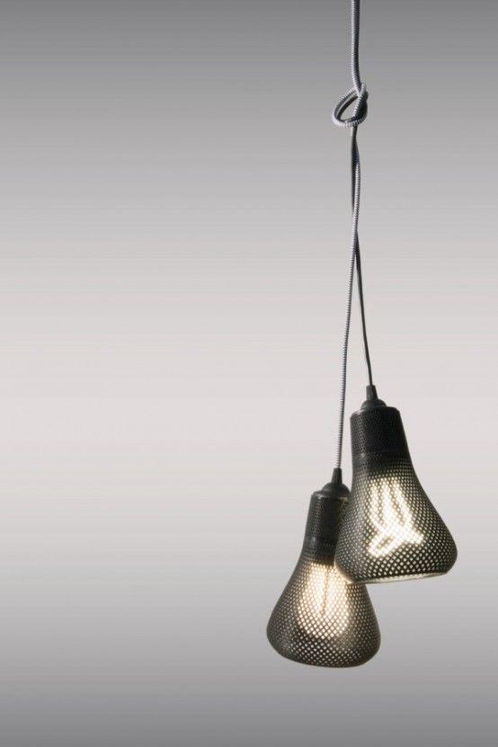 3d Gedruckte Massgeschneiderte Lampenschirme Fur Die Plumen Gluhbirnen Lampendesign Design Lampen Und Innenbeleuchtung