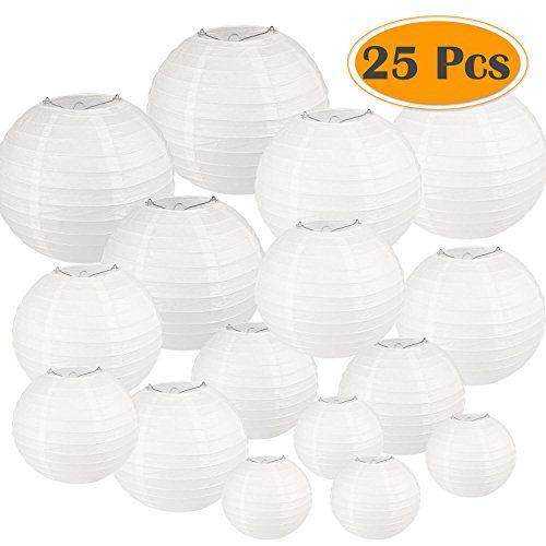 28++ Large white chinese lanterns trends