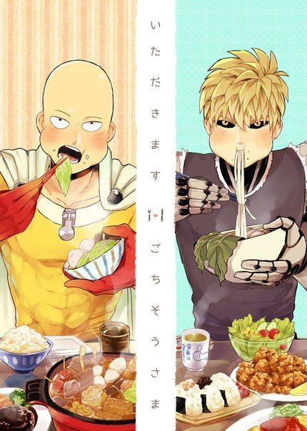 One Punch Man - Saitama&Genos