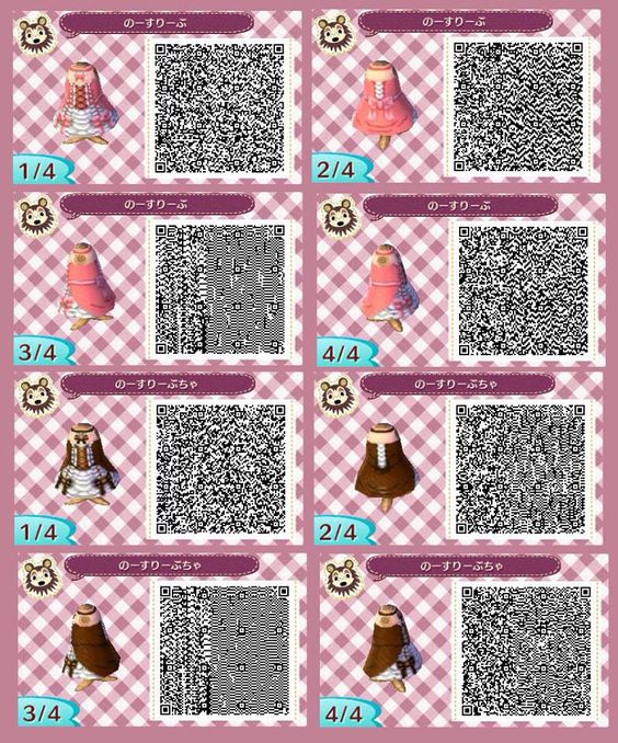 Princess dress animal crossing new leaf acnl qr code for Carrelage kitsch acnl