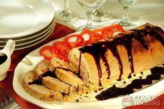 Receita de Lombo festivo especial em receitas de carnes, veja essa e outras receitas aqui!