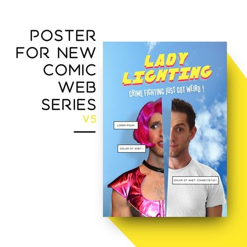 Poster For New Comic Web Series Poster Contest Sponsored Design Poster Winning Elinthorst Comics Web Series Contest