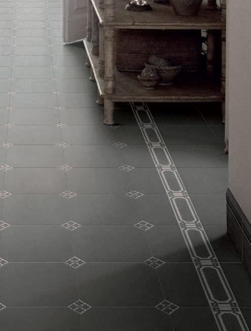 Cuisines Art Deco Retro Flooring Tile Floor Inspiration