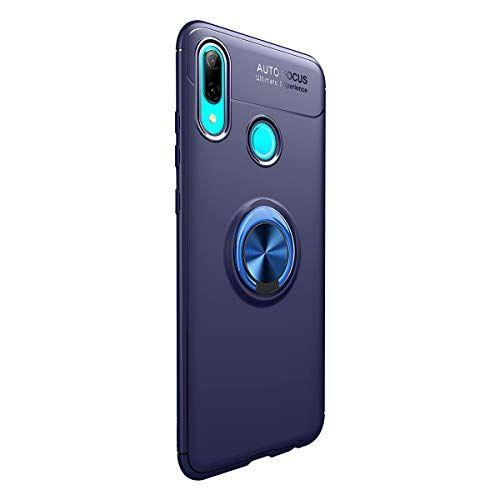 1anberi Hulle Fur Huawei P Smart 2019 Slim Soft Silikontpu 360 Rotation Ring Handyhulle Mit Magnetic Autohalterungen Stossfest Schut Halterung Autos Schutzhulle