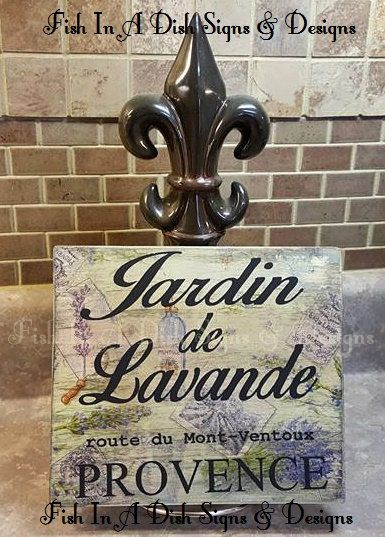 Lavender Garden Wall art, Stained wooden plaque, Painted wooden sign,Mother's Day, Wedding, Housewarming Gift, Home Decor, Anniversary Gift by FishInADishDesigns on Etsy