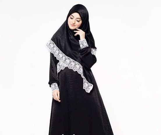 Model Baju Renda Abaya 11