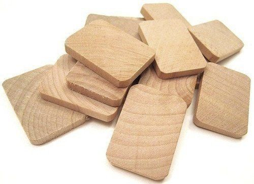 75 Unfinished Wooden Rectangles  1 3/8 Inch 35 by ShauneilSupplies, $12.20