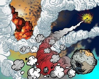 Raumexplosionen