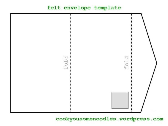 felt envelope pattern - Cerca con Google