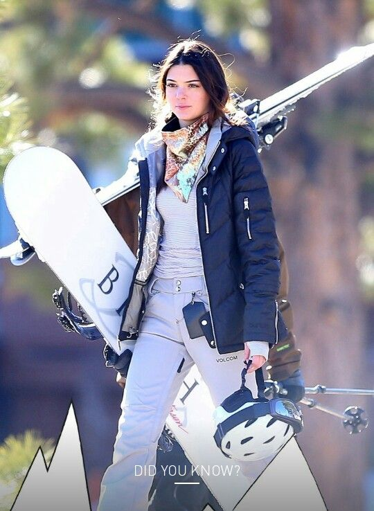 KJ esquiar