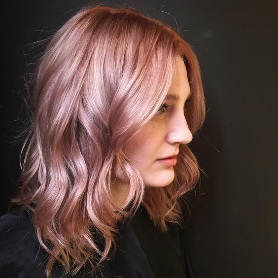 50 Top Notch Rose Gold Hair Ideas  Trendiest Color Of The Season  COLORS