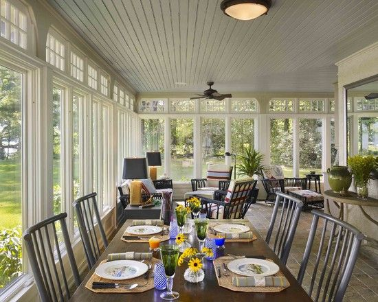 Spaces Enclosed Porch Design, Pictures, Remodel, Decor and Ideas - page 17