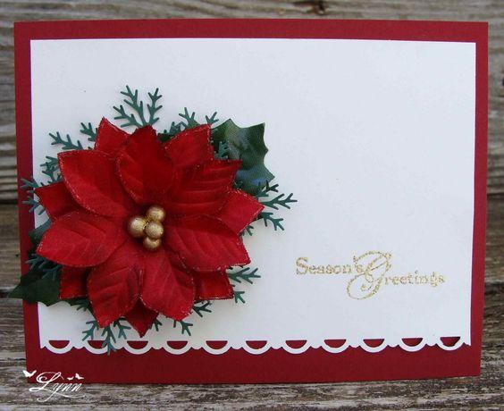 Creative Crafts by Lynn: Poinsettia