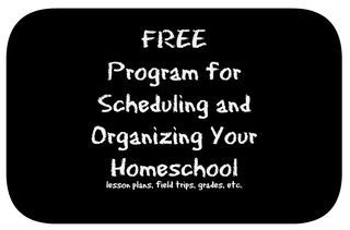 Free Online Program for Scheduling and Organizing a Homeschool