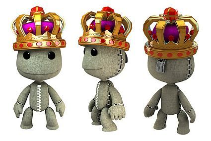littlebigplanet dlc fanboys | Prize of U.S. 2nd PS3 birthday competiton. A nice, shiny crown